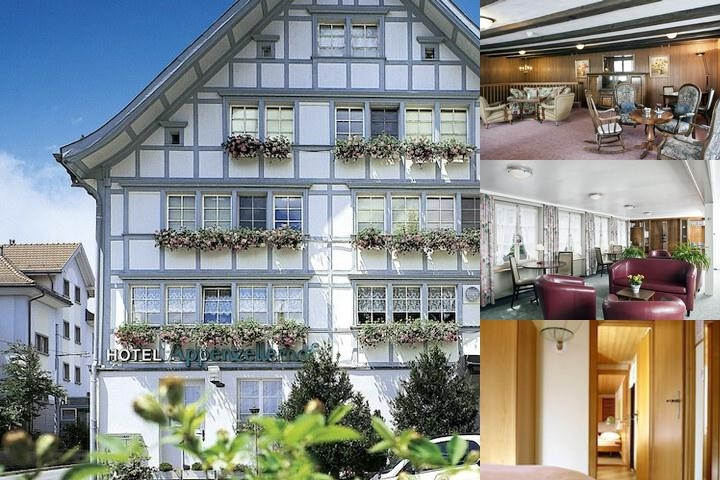 Idyllhotel Appenzellerhof photo collage