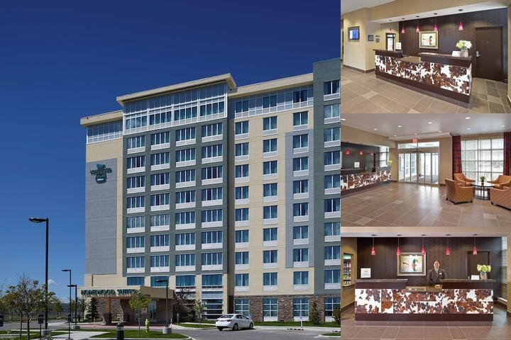Homewood Suites by Hilton Calgary Airport Alberta photo collage