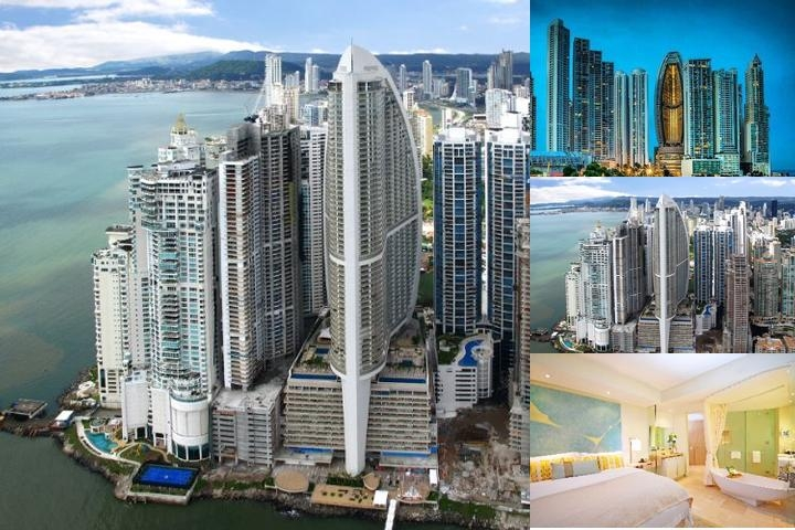 Trump International Hotel & Tower Panama photo collage