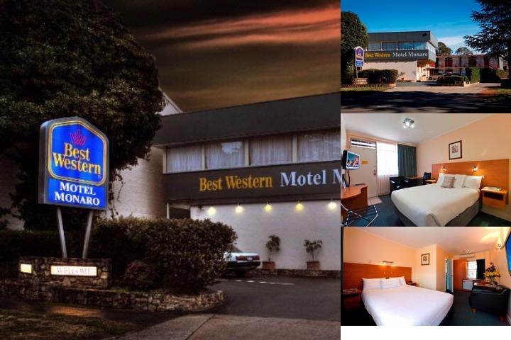 Best Western Motel Monaro photo collage