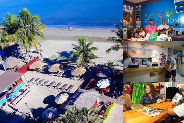 Smugglers Cove Beach Resort & Hotel photo collage