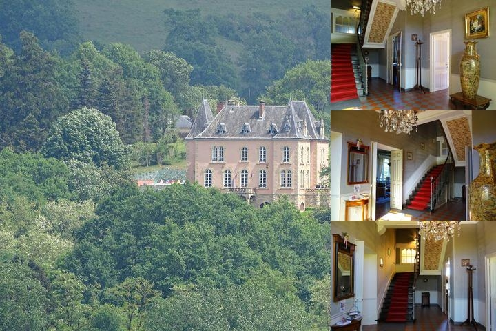 Chateau Du Bois Noir photo collage