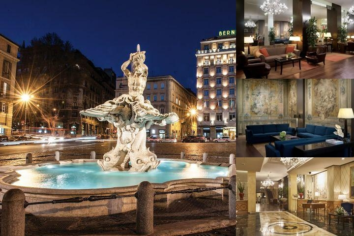 Bernini Bristol a Sina Hotel photo collage