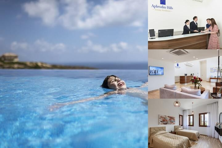Aphrodite Hills Hotel photo collage