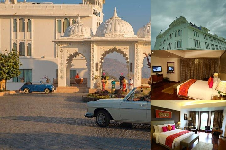 Radisson Blu Udaipur Palace Resort & Spa photo collage