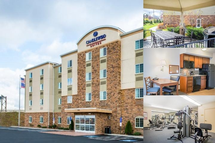 Candlewood Suites Pittsburgh Cranberry photo collage