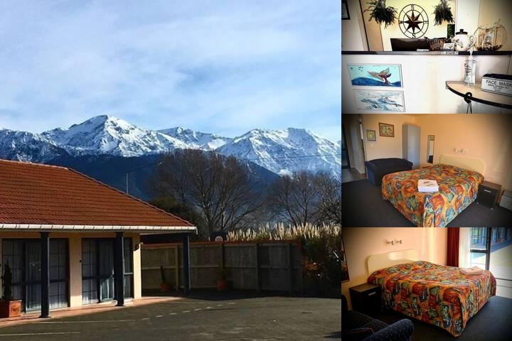 Mediterranean Motel Kaikoura photo collage