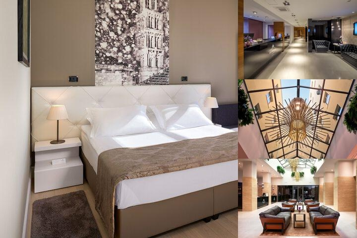 Cornaro Hotel photo collage