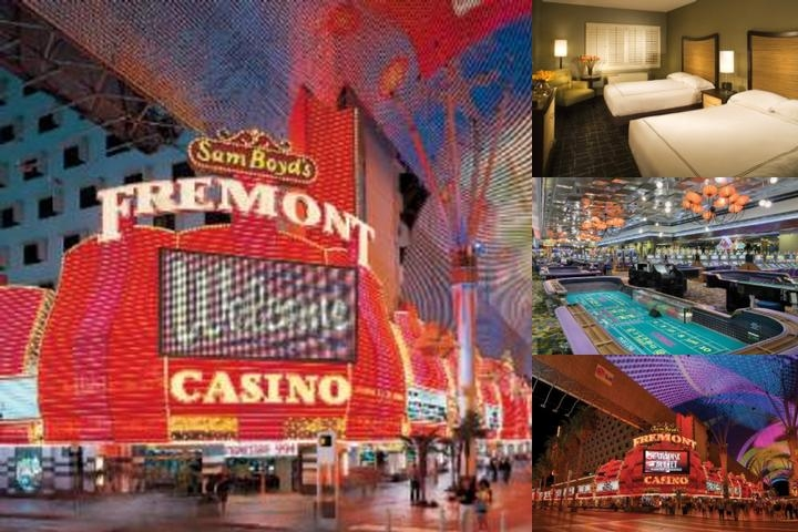 Fremont Hotel & Casino photo collage