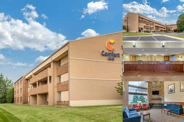 Lansing Comfort Inn photo collage