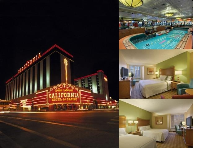 California Hotel & Casino photo collage