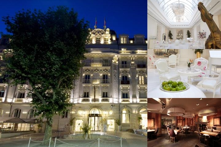 Hotel Boscolo Exedra photo collage