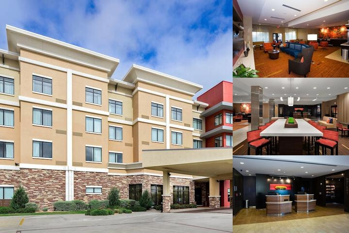Courtyard by Marriott Lubbock Downtown photo collage