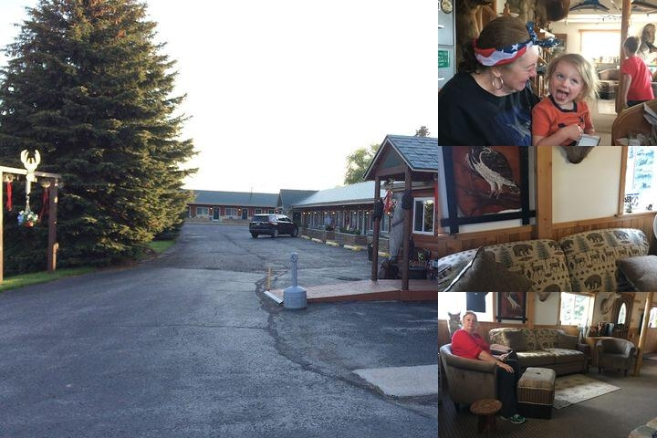 Big Bear Lodge Alpena photo collage