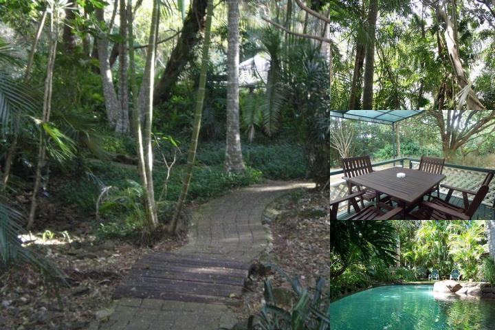 Tanglewood Gardens Rainforest Retreat photo collage