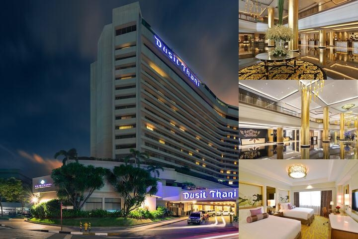 Dusit Thani Manila photo collage