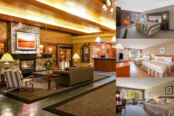 Kelowna Ramada Hotel & Conference Centre photo collage