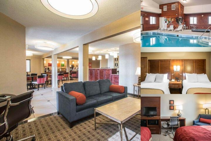 Comfort Inn of Boonville photo collage