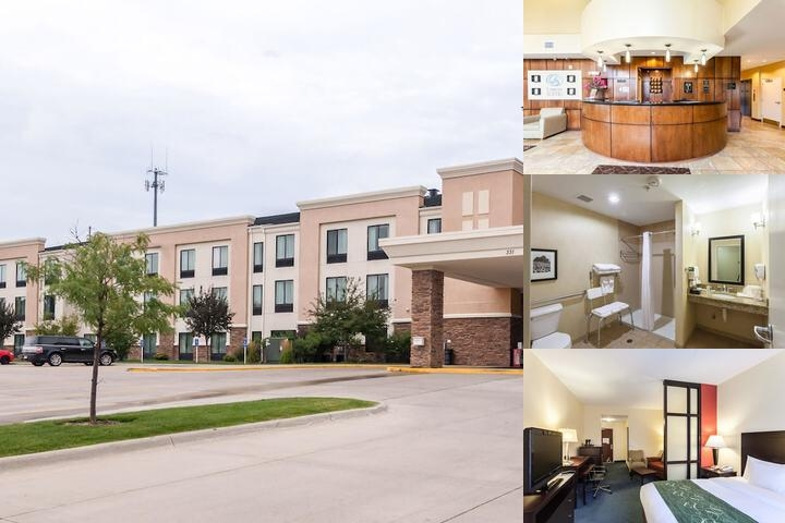 Comfort Suites Lincoln photo collage