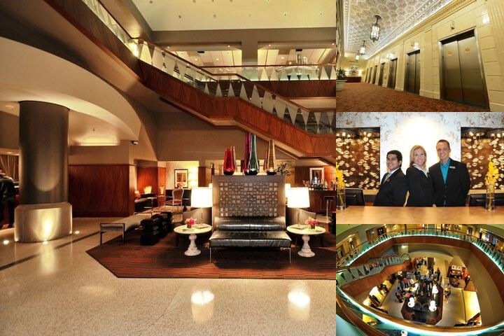Magnolia Hotel Dallas photo collage