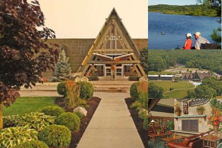 Hueston Woods Lodge photo collage