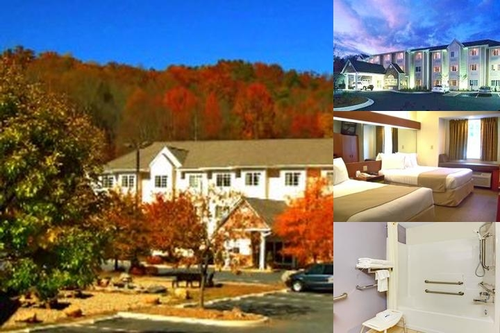 Microtel Inn & Suites Cherokee North Carolina photo collage