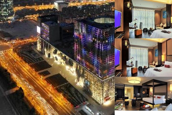 Jumeirah Himalayas Hotel Shanghai photo collage