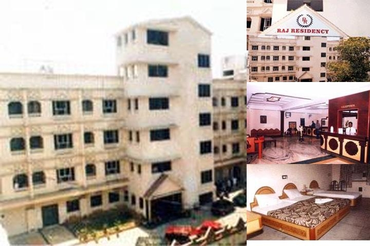 Raj Residency photo collage