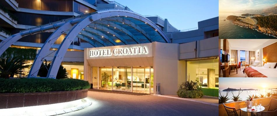 Hotel Croatia Cavtat photo collage