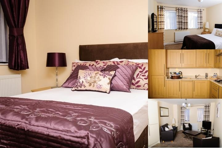 Luxe Service Apartments photo collage