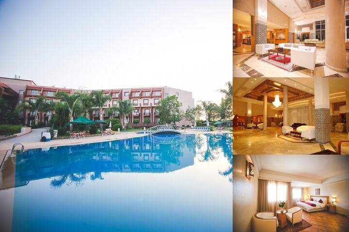 Hotel Menzeh Dalia photo collage