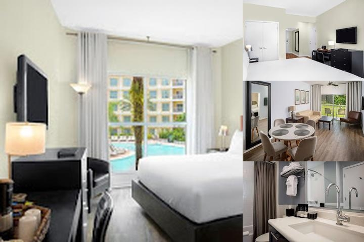 Melia Orlando Suite Hotel at Celebration photo collage