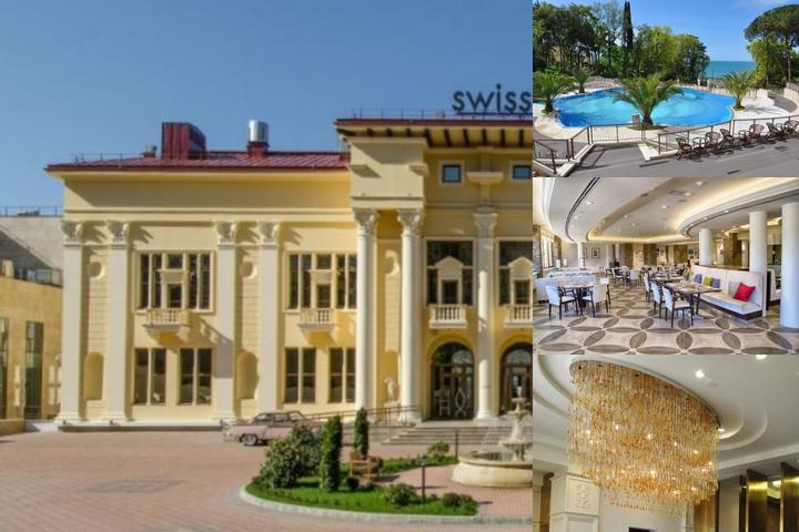Swissôtel Sochi Kamelia photo collage