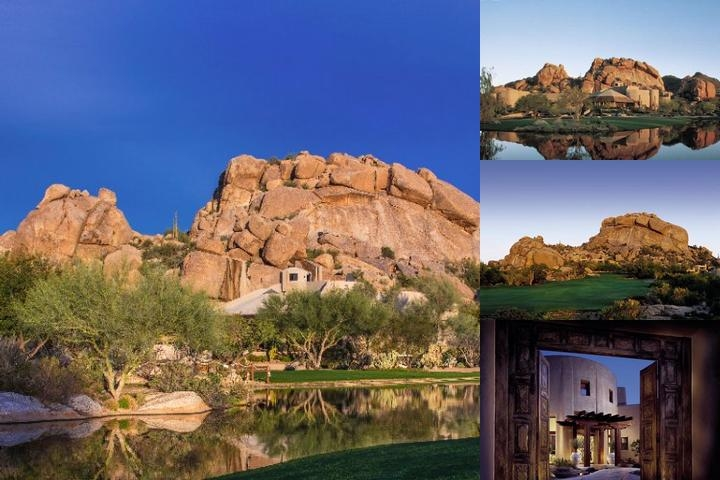 Boulders Resort & Spa photo collage