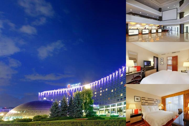 Azimut Moscow Olympic Hotel photo collage