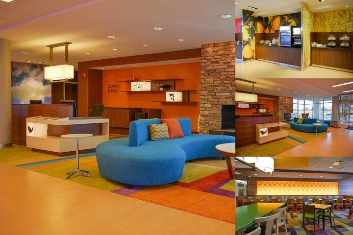 Fairfield Inn & Suites Canton South photo collage
