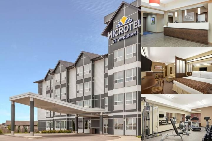 Microtel Inn & Suites by Wyndham Estevan photo collage