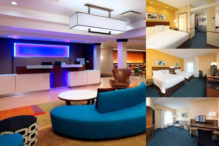 Fairfield Inn & Suites Newark Liberty Airport photo collage