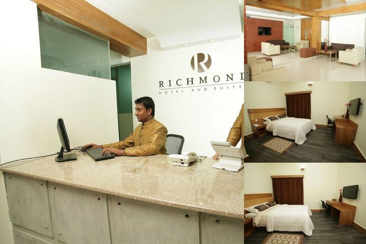 Richmond Hotel & Suites photo collage