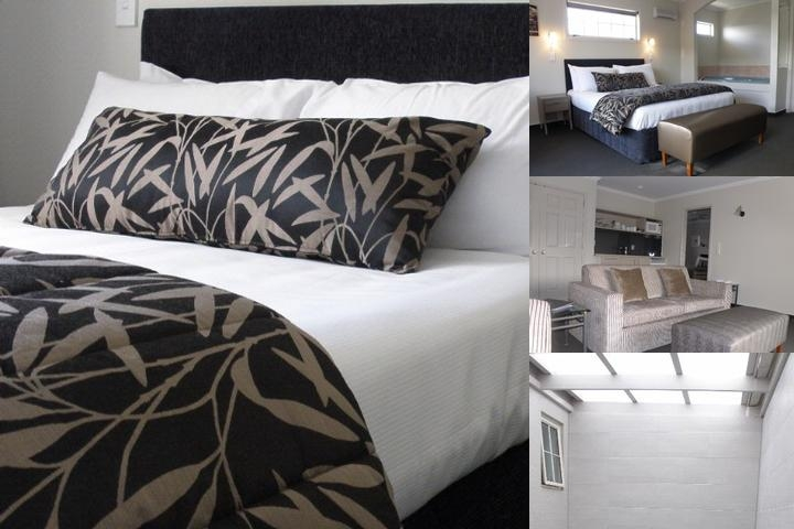 Silver Fern Accommodation & Spa photo collage