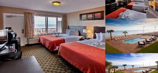 Daytona Beach Econo Lodge Oceanfront photo collage