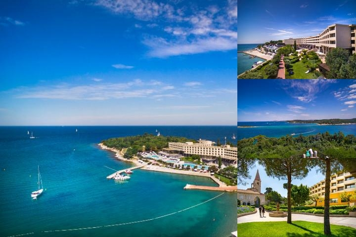 Island Hotel Istra photo collage