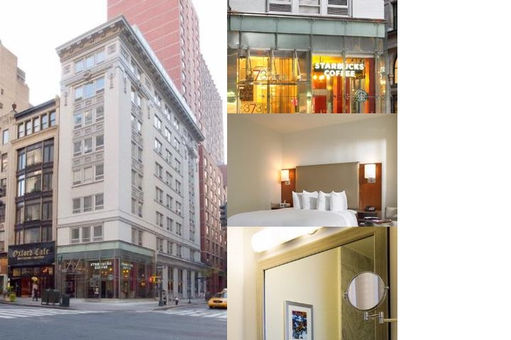Hotel 373 Fifth Ave photo collage