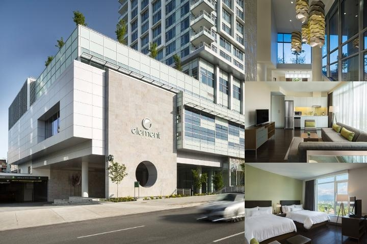 Element by Westin Vancouver Metrotown photo collage