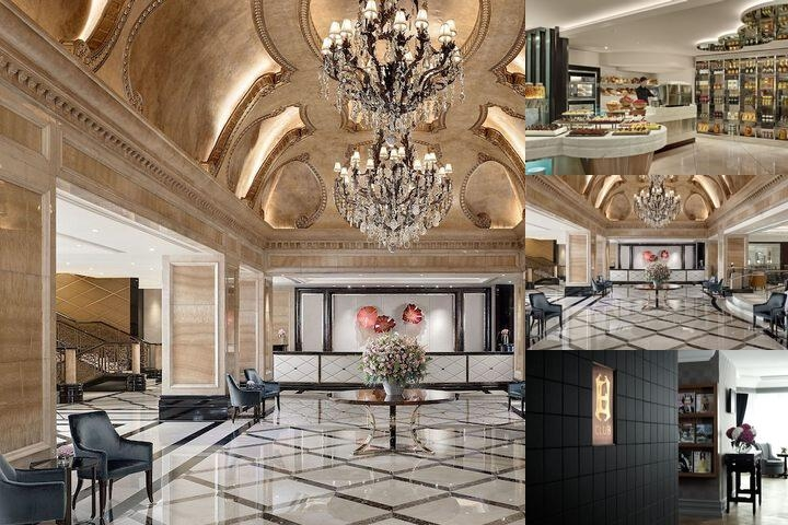 The Langham Hong Kong photo collage