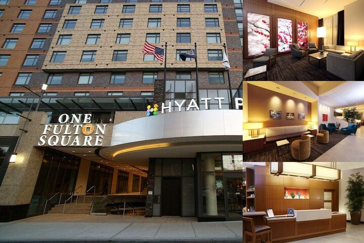 Hyatt Place Flushing / La Guardia Airport photo collage