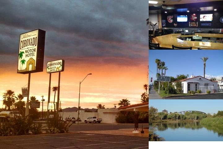 Historic Coronado Motor Hotel photo collage