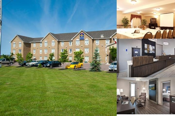 Best Western Plus Moncton photo collage