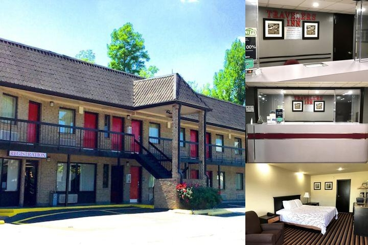 Travelers Inn photo collage