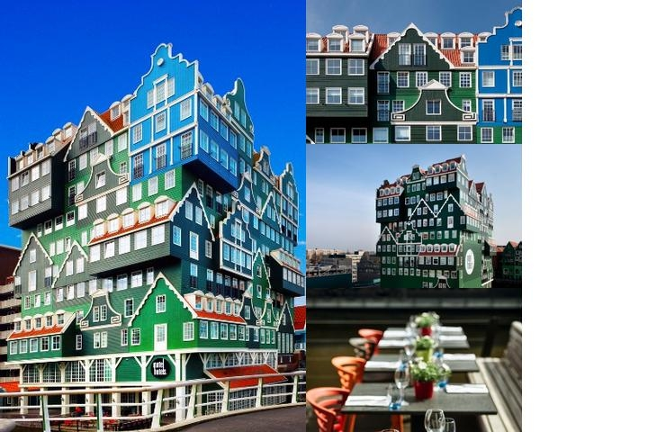 Inntel Hotels Amsterdam Zaandam photo collage